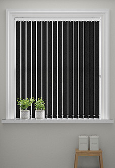 Affinity, Black - Vertical Blind
