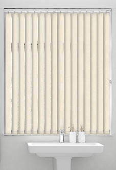 Ajanta (Blackout), Cream - Vertical Blind