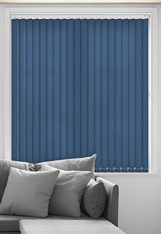 Crosshatch, Sea Urchin - Vertical Blind