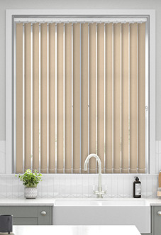 Deanna, Latte - Vertical Blind