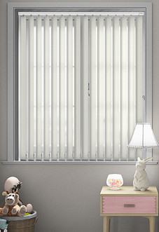Decor, Cream - Vertical Blind