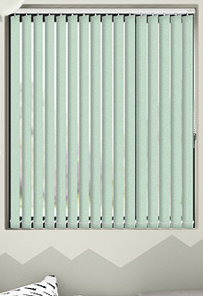 Jasmine (Blackout), Spearmint - Vertical Blind