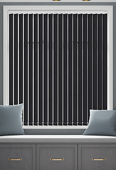 Origin (Blackout), Ebony - Vertical Blind