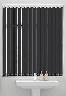 Palermo (Blackout), Black - Vertical Blind
