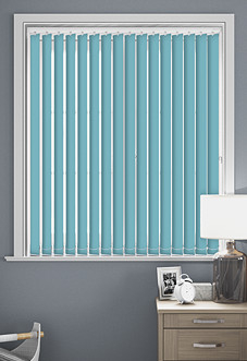 Palermo (Blackout), Cerulean - Vertical Blind