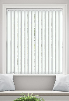 Palermo (Blackout), Cotton - Vertical Blind