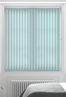 Roma, Aqua Haze - Vertical Blind