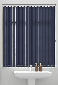 Roma (FR), Dark Blue - Vertical Blind