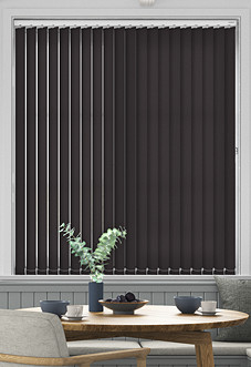 Roma (FR), Ebony - Vertical Blind