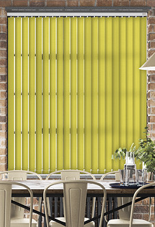 Roma, Lime - Vertical Blind