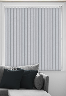 Splash (Blackout), Grey - Vertical Blind