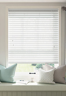 Ecowood, Pure White Satin - Venetian Blind