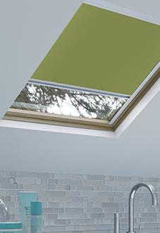 Energy Saving (Blackout), Green - Loft Blind