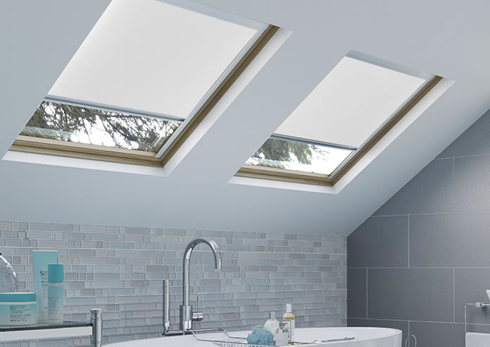 Energy Saving (Blackout), White - Loft Blind