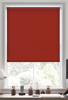 Origin (Blackout), Crimson - Motorised Roller Blind
