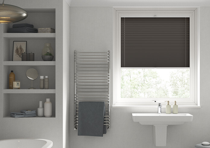 Pleated, Bark - Perfect Fit Blind