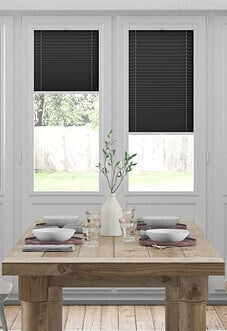Pleated (Blackout), Black - Perfect Fit Blind