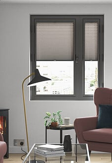 Pleated (Blackout), Putty - Perfect Fit Blind