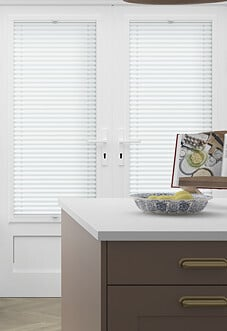 Pleated, Bright White - Perfect Fit Blind