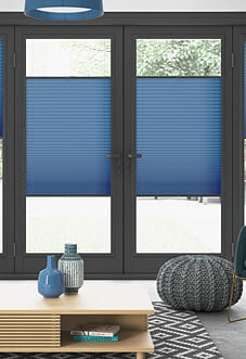 Pleated, Cornflower - Perfect Fit Blind