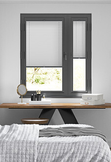 Pleated, Grey - Perfect Fit Blind