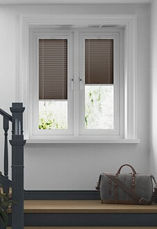 Pleated, Hazelnut - Perfect Fit Blind