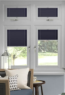 Pleated, Night Sky - Perfect Fit Blind