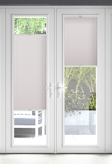 Pleated, Rose - Perfect Fit Blind