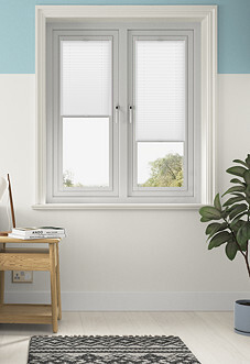 Pleated, Soft White - Perfect Fit Blind