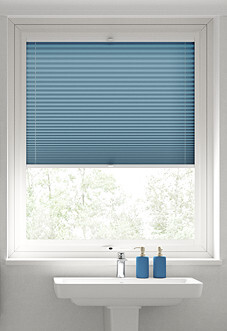 Pleated, Summer Sky - Perfect Fit Blind