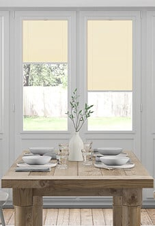 Pleated, Wild Rice - Perfect Fit Blind