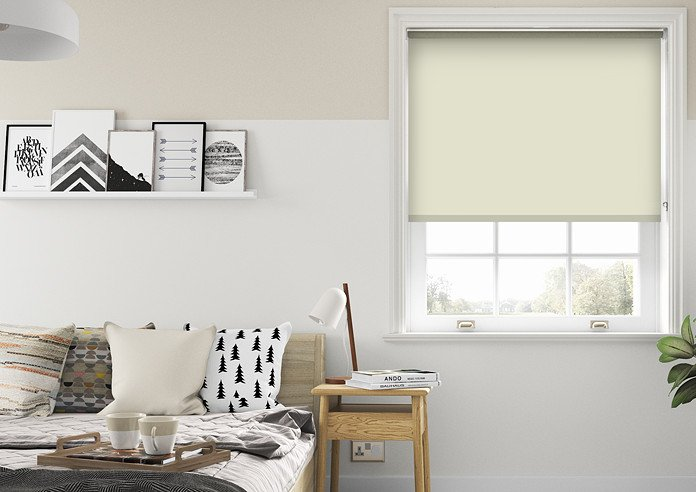 Eco Friendly, Cookie Cream - Roller Blind