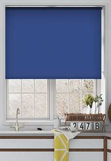 Eco Friendly, Pacific Blue - Roller Blind