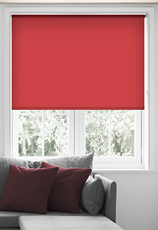 Eco Friendly, Royal Red - Roller Blind