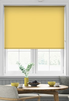 Eco Friendly, Sunny Yellow - Roller Blind