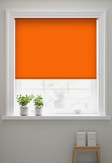 Origin (Blackout), Bright Orange - Roller Blind