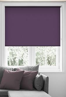 Origin (Blackout), Dark Purple - Roller Blind