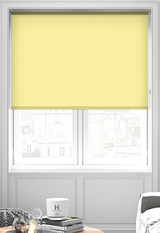 Palermo (Blackout), Yellow - Roller Blind