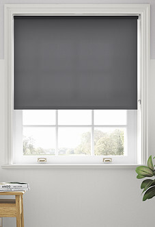 Trapani, Charcoal - Roller Blind