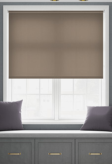 Trapani, Chocolate - Roller Blind