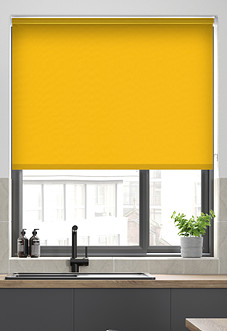 Trinity (Blackout), Canary - Roller Blind