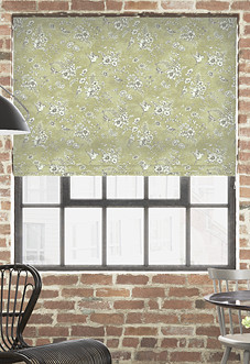 Finch Toile, Willow - Roman Blind