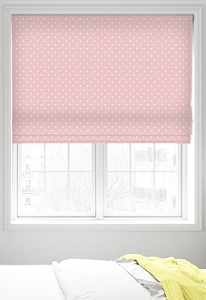 Full Stop, Candy - Roman Blind