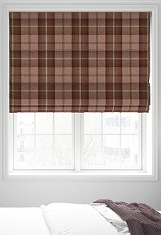 Highland, Mulberry - Roman Blind