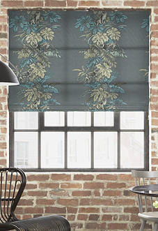 Monkeying Around, Mineral - Roman Blind