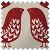 Scandi Birds, Scarlet - Roman Blind