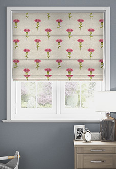 Thistle, Rosso - Roman Blind