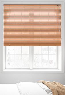 Wood Effect, Colonial Maple - Venetian Blind