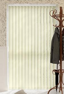 Lusso, Cream - Vertical Blind