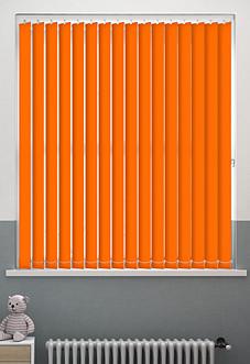 Origin (Blackout), Bright Orange - Vertical Blind